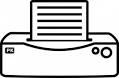 Druckersymbol
